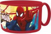 Caneca plástico micro Spiderman - Red Webs