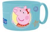Caneca plástico microondas 450ml de Peppa Pig - Core
