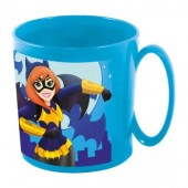 Caneca plástico microondas DC Super Hero Girls 360 ml