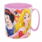 Caneca Plástico Microondas Princesas 360ml