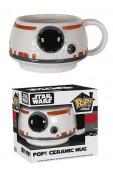 Caneca Pop Ceramica BB 8 Star Wars