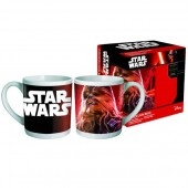 Caneca Porcelana Chewbacca Star Wars