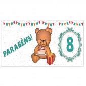 Caneca Urso - Idade 8