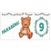 Caneca Urso - Idade 9