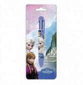 Caneta 6 Cores Disney Frozen Blue
