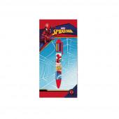 Caneta 6 Cores Spiderman Marvel