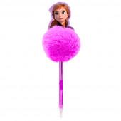 Caneta Pompom Anna Frozen 2