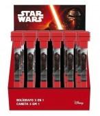 Canetas 3 em 1 Star Wars