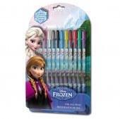 Canetas Gel Disney Frozen 12 unid