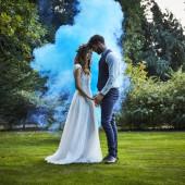 Canhão Fumo Azul