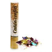 Canhão Lança Confettis Colorido 30cm