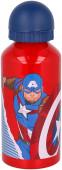 Cantil Alumínio Capitão América Avengers 400ml
