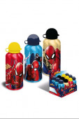 Cantil Alumínio Spiderman 500ml Sortido