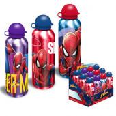 Cantil Alumínio Spiderman Marvel 500ml Sortido