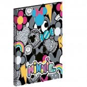Capa A4 c/ Elásticos Minnie Patch