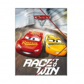 Capa A4 com elásticos Cars Race Win