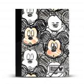 Capa A4 com elásticos Mickey - Oh Boy