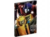 Capa A4 com elásticos Transformers Power