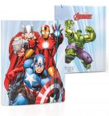 Capa A4 Elásticos Avengers