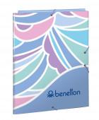 Capa A4 Elásticos Benetton Arcobaleno