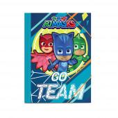 Capa A4 Elásticos PJ Masks Go Team