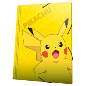 Capa A4 Elásticos Pokémon Pikachu