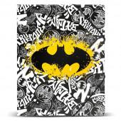 Capa com Elasticos A4 Batman Tagsignal