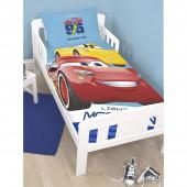 Capa de Edredon e Almofada cama grades Cars