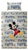 Capa de Edredon e Almofada Mickey Banda Desenhada