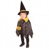 Capa e chapéu bruxa bruxo