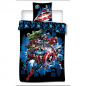 Capa Edredon Avengers Fight