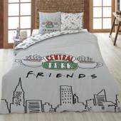 Capa Edredon Casal Friends Central Perk 240x220cm