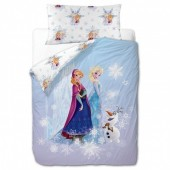 Capa Edredon e almofada Disney Frozen