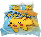 Capa Edredon Pikachu Pokémon Casal