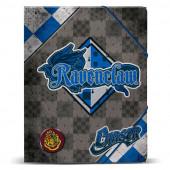 Capa  Elásticos A4 32cm Harry Potter  Quidditch Ravenclaw