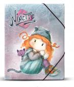 Capa Elásticos A4 Ninette Forever