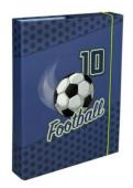 Capa elásticos rigida A4 Futebol