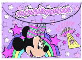 Capa escolar com mola Minnie Unicorns