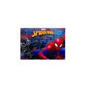 Capa escolar com mola Spiderman