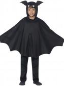 Capa Morcego Infantil Halloween
