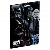 Capa pasta larga elásticos Star Wars Rogue One Imperial