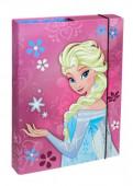 Capa Rígida A4 Elásticos Frozen