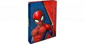 Capa Rígida A4 Elásticos Spiderman