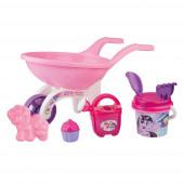 Carrinho de mão + acessórios Praia My Little Pony