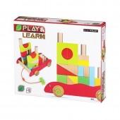 Carro Blocos Madeira Play & Learn