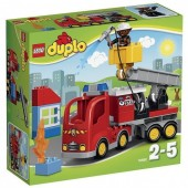 Carro Bombeiros Lego Duplo