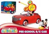 Carro controle remoto Mickey pre escolar