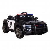 Carro Elétrico Policia 12V Preto