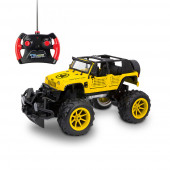 Carro Jeep Wrangler Amarelo R/C