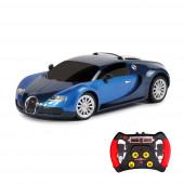 Carro R/C 1:43 IR Bugatti Veyron Azul